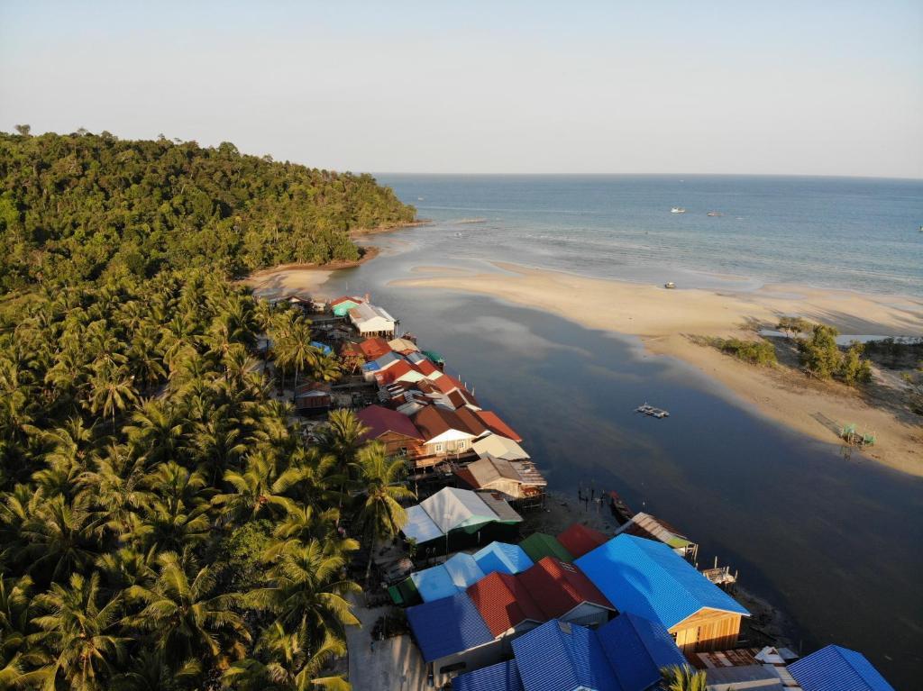 柬埔寨  西哈努克城  瓜隆岛的酒店  普瑞科思韦生态旅游民宿 (民宿)