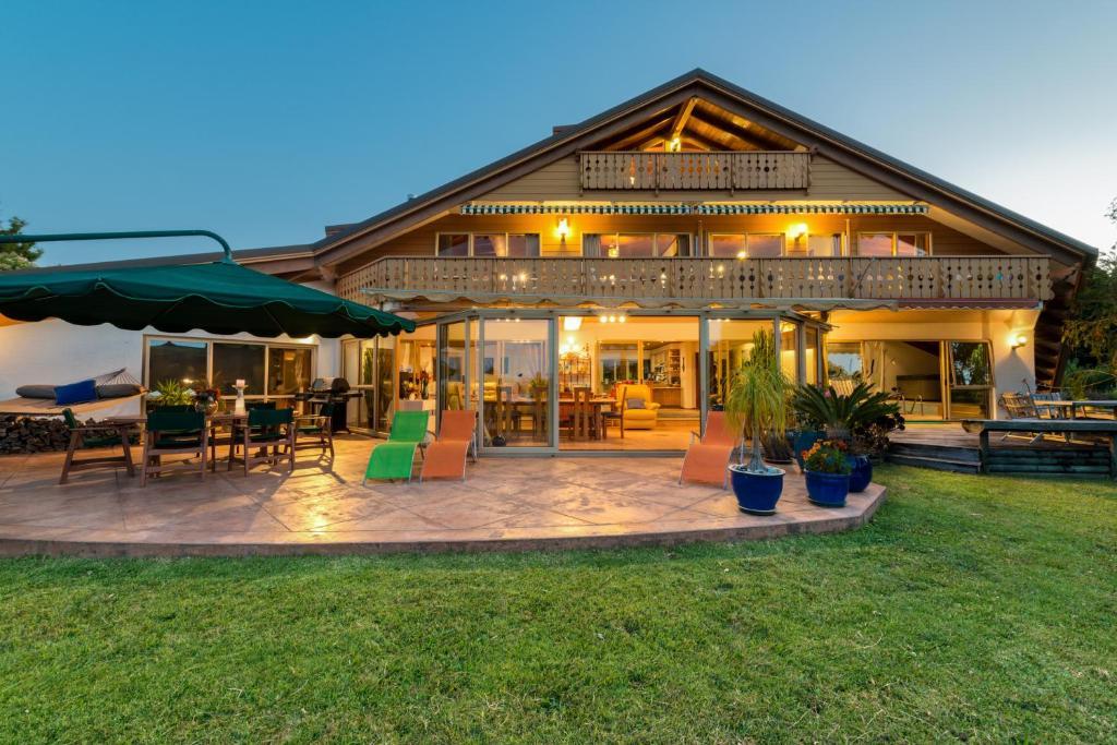 新西兰  北地大区  群岛湾  派西亚的酒店  罗曼提卡木屋酒店 (住宿加