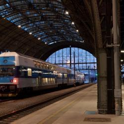 布拉格中央火车站