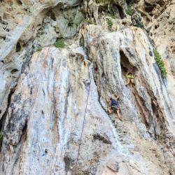 Railay Rock Climbing Point