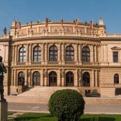 鲁道夫音乐厅, 布拉格