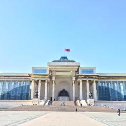 成吉思汗广场, 乌兰巴托
