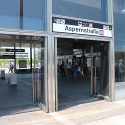 Aspernstraße Metro Stop