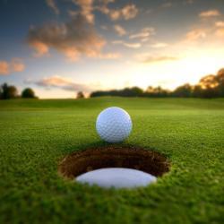 银色高尔夫球场