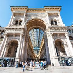 维托伊曼纽二世拱廊, 米兰