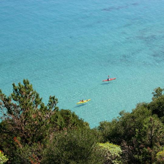 埃奥利群岛皮划艇