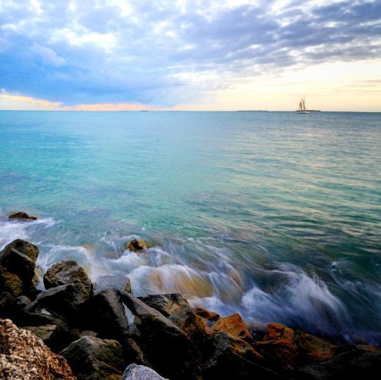 西礁岛的海明威故居