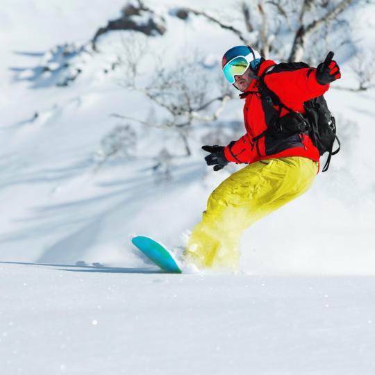 周末到滨海阿尔卑斯去滑雪