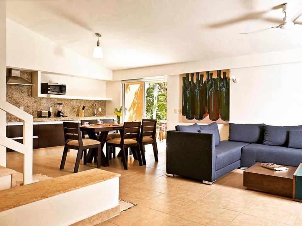 Villas Ixzi Plus的休息区