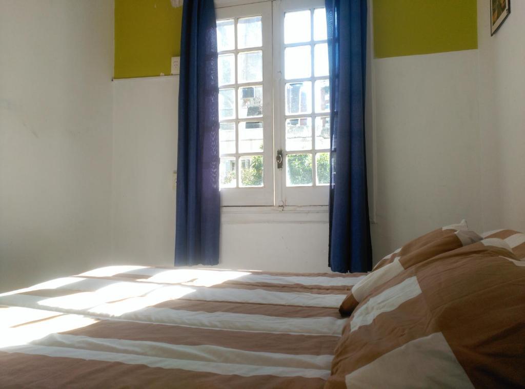 波西托斯旅舍客房内的一张或多张床位