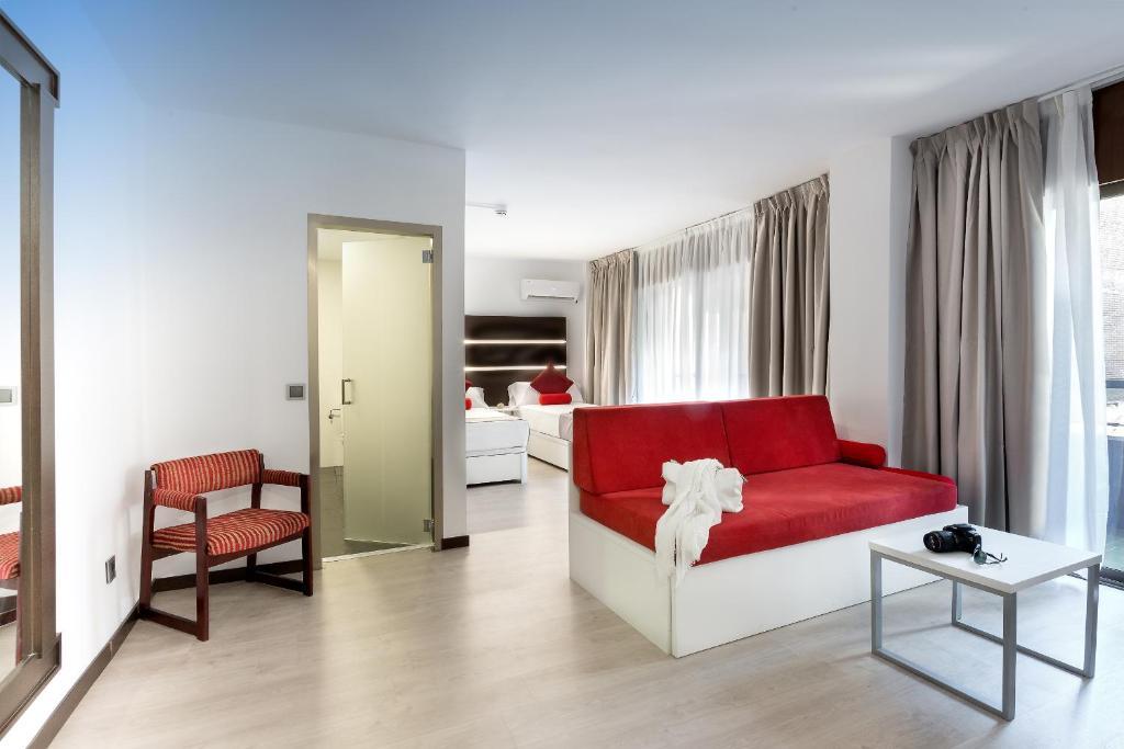 罗伊萨精品旅馆的休息区