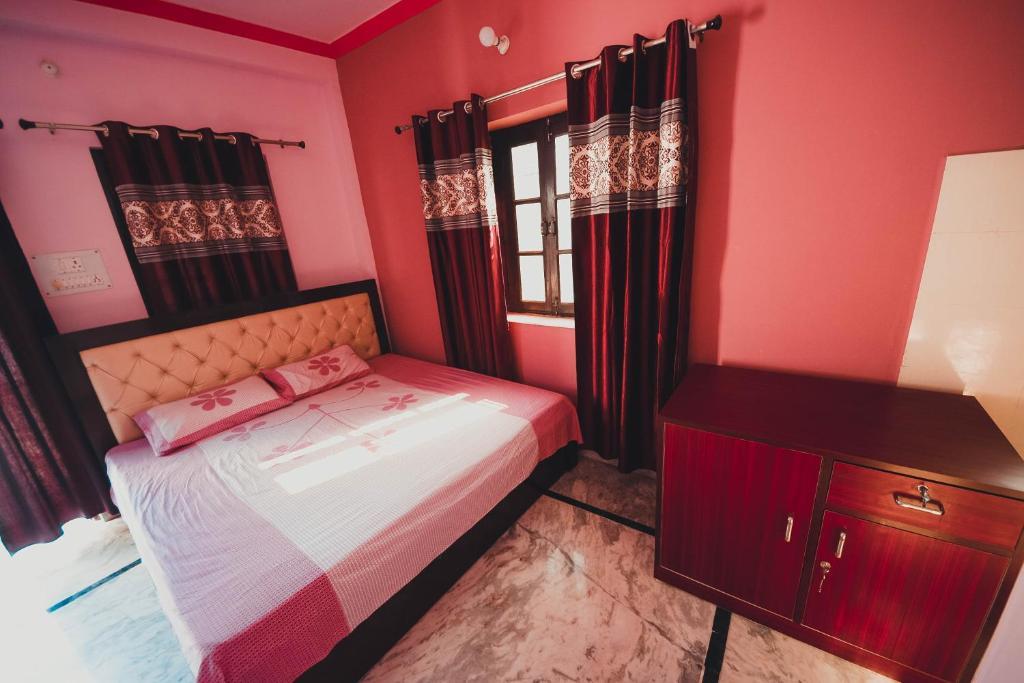 Welcome Home客房内的一张或多张床位