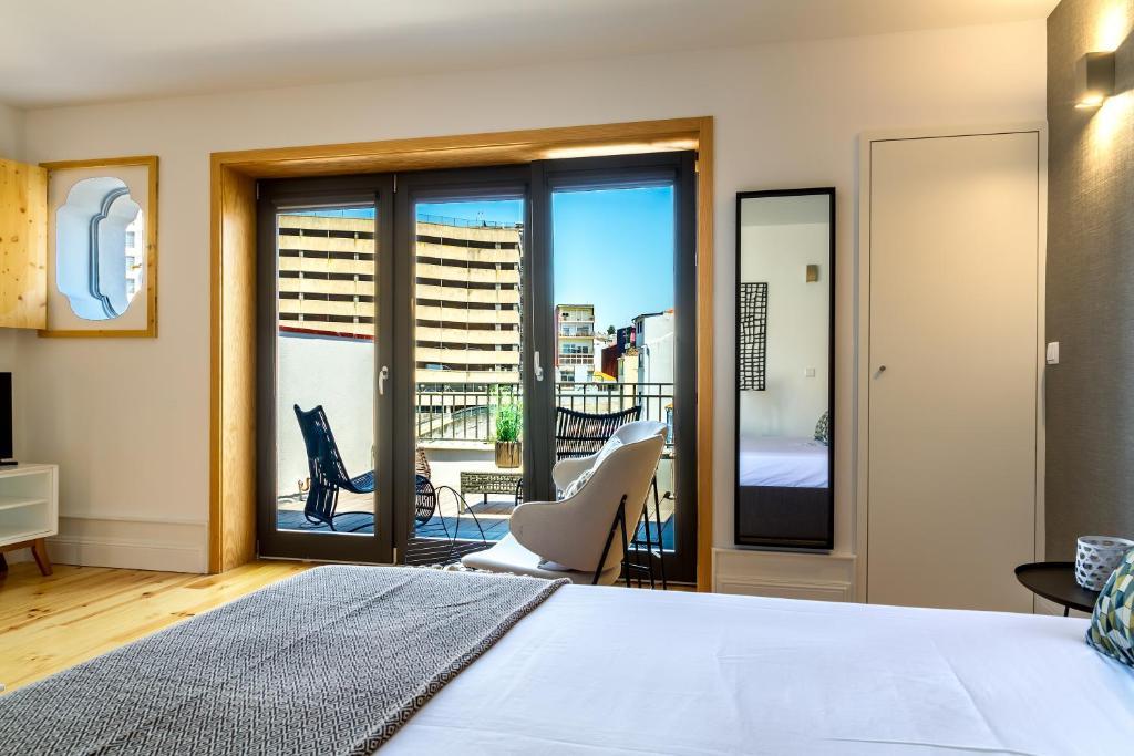 尹思图佛莫萨178公寓客房内的一张或多张床位