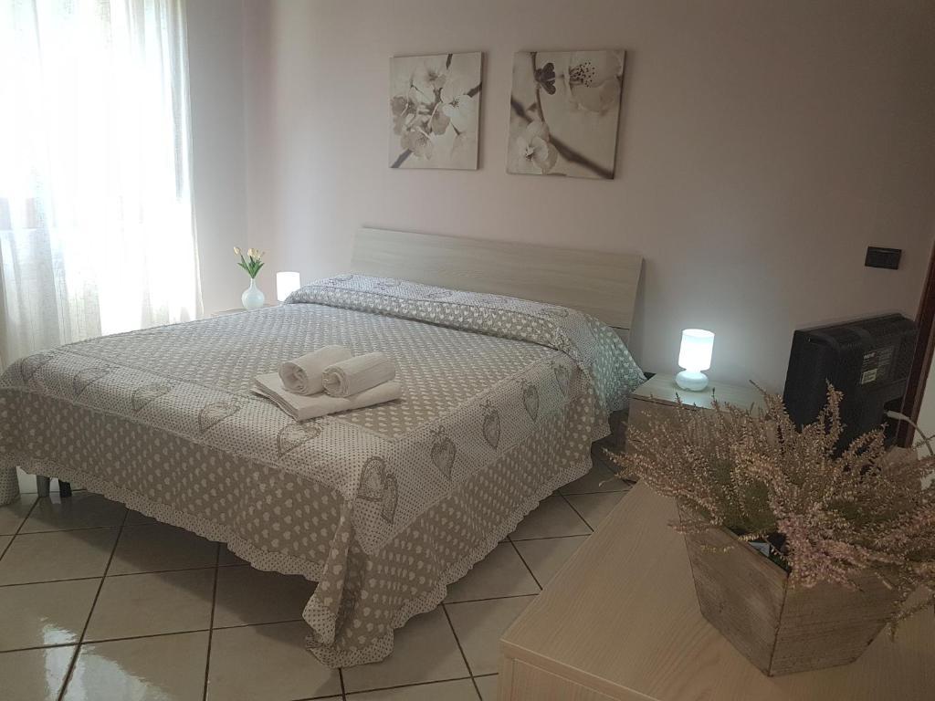 Pompei Casa Signorile客房内的一张或多张床位