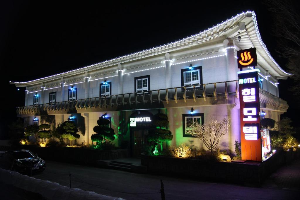 汽车旅馆所在大楼