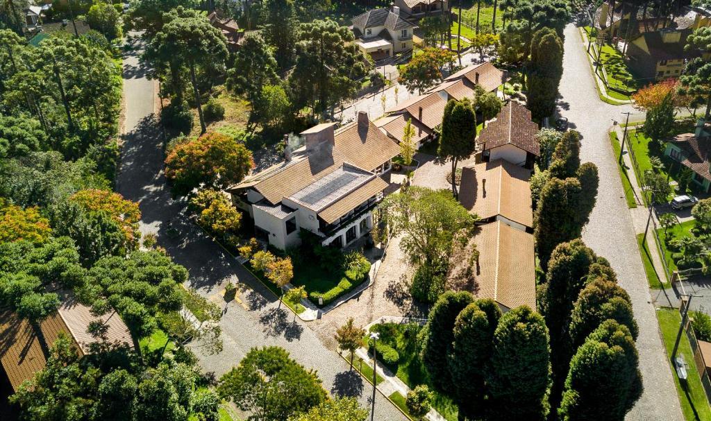 苏珊娜维拉公园酒店鸟瞰图