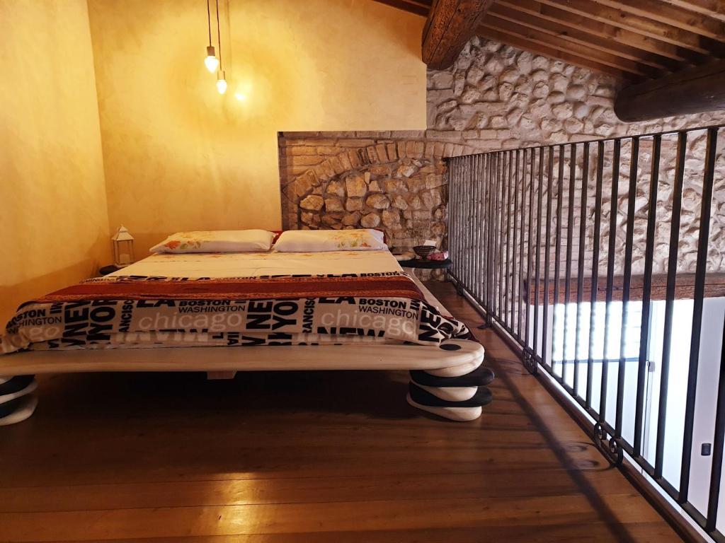 Le Risorgive客房内的一张或多张床位