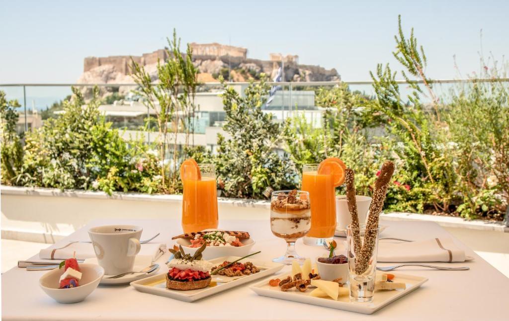雅典伊莱克特拉酒店提供给客人的早餐选择
