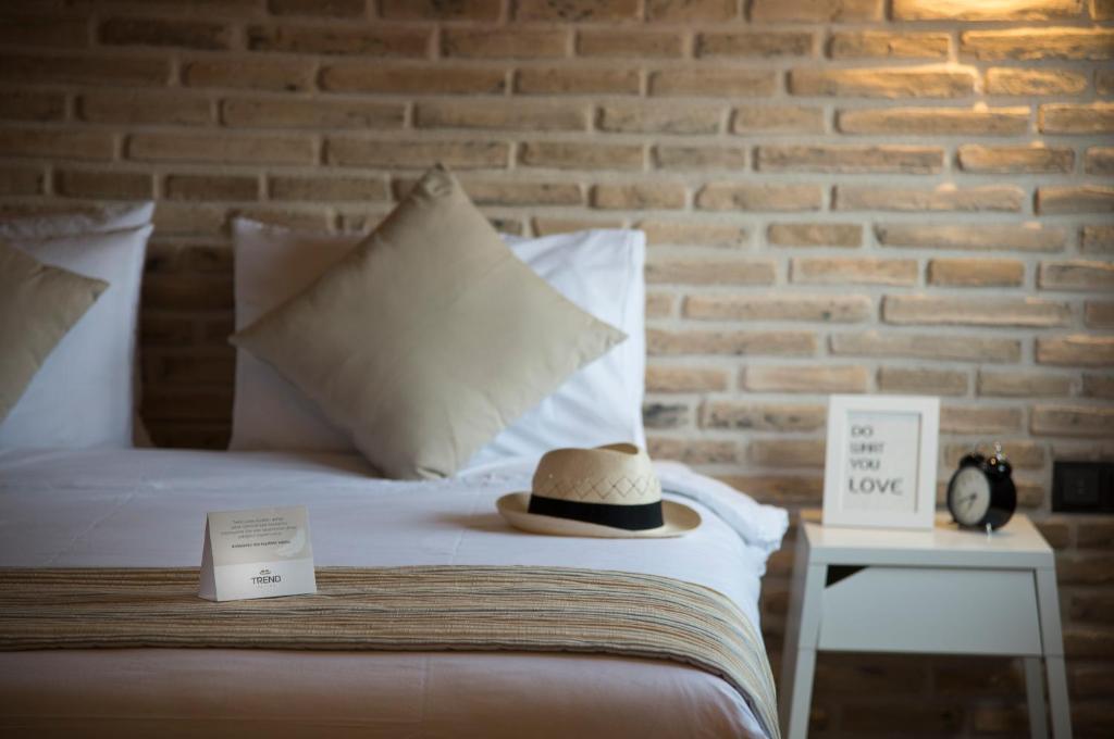 特伦德套房公寓客房内的一张或多张床位