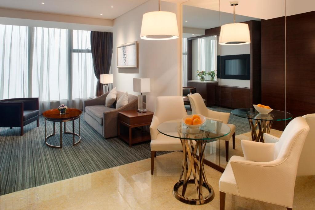 重庆丽笙世嘉酒店的休息区