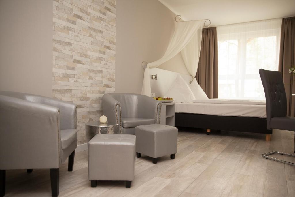 柏林基兹潘森酒店的休息区