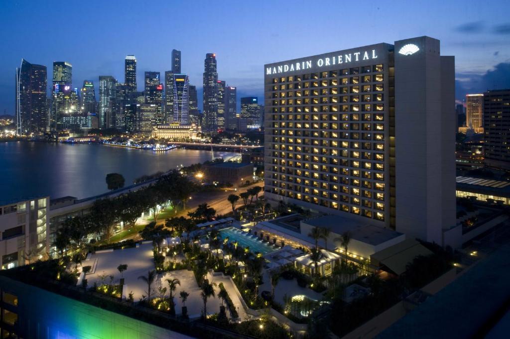新加坡文华东方酒店鸟瞰图
