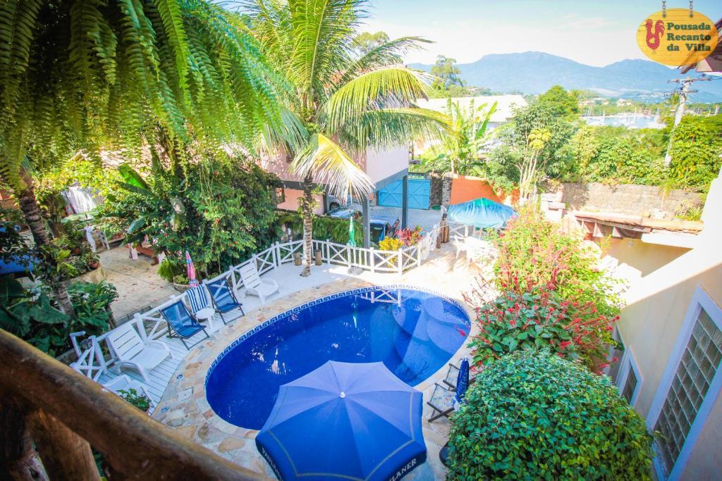 VELINN Pousada Recanto da Villa内部或周边泳池景观