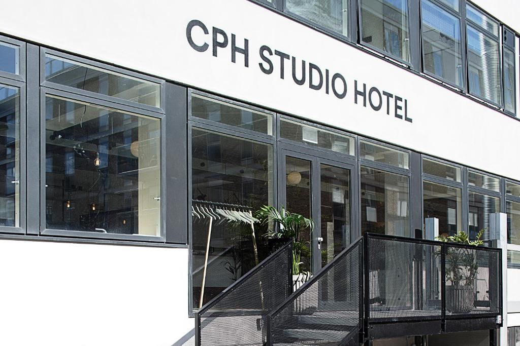 CPH一室公寓酒店的门面或入口