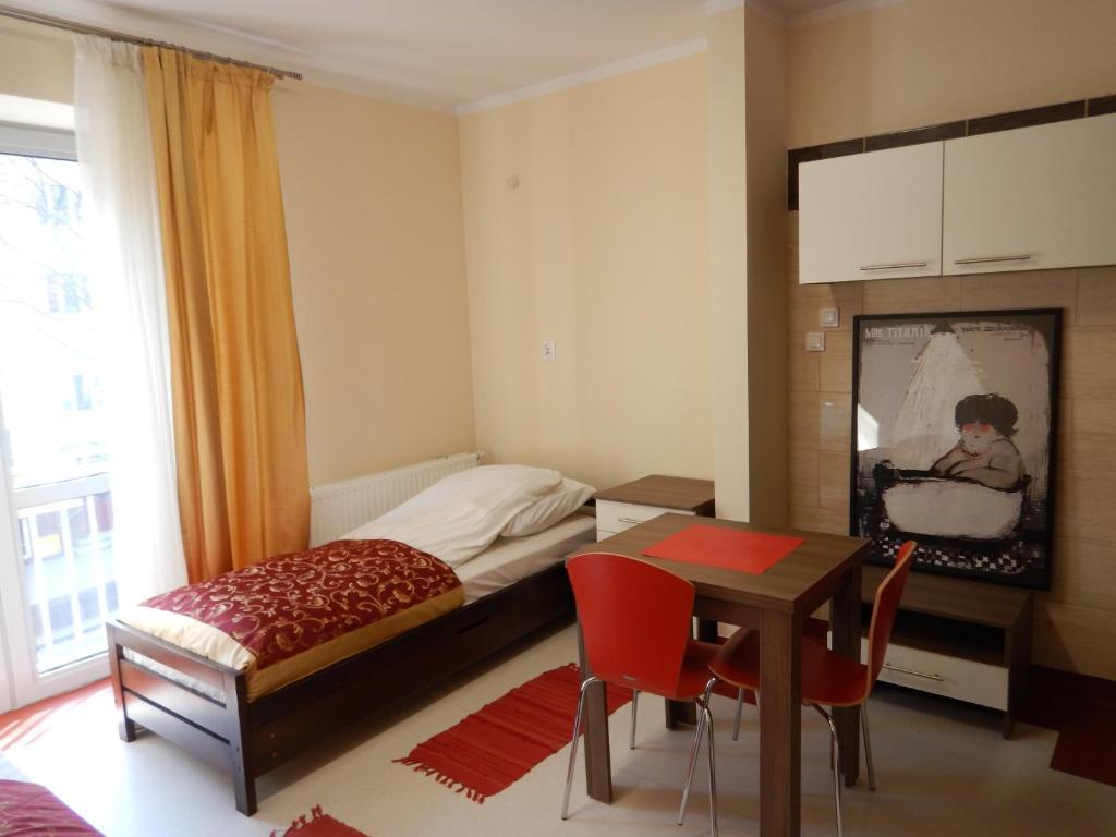 斯罗多夫斯卡旅舍 客房内的一张或多张床位