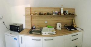 Simpli Apartments的厨房或小厨房