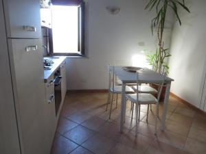 Il Melograno的厨房或小厨房