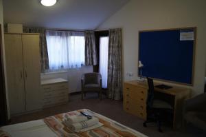罗宾逊学院酒店 - 剑桥大学的电视和/或娱乐中心