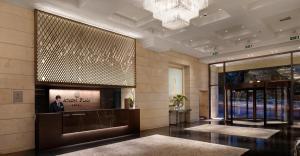 NJV雅典广场酒店大厅或接待区