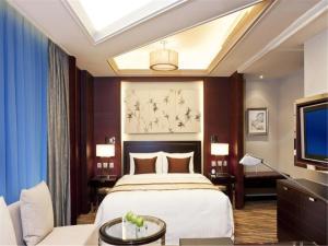 天津天诚丽筠酒店客房内的一张或多张床位