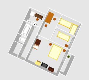 奥斯维泽尔披头士01公寓平面图