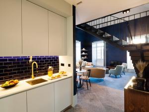 阿尔克凯里公寓的厨房或小厨房