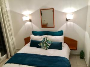 Appartement Avenue de la plage客房内的一张或多张床位