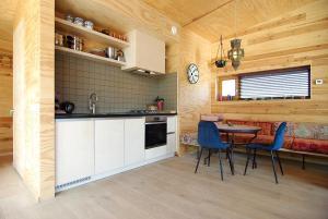 Freelodge - City & Nature的厨房或小厨房