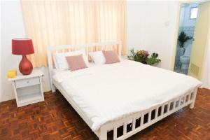 Homestay Chiang Mai | Lino House客房内的一张或多张床位