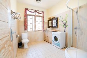 镜洞之家度假屋的一间浴室