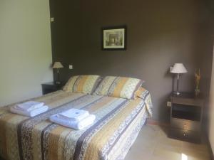 Reina de las Cortaderas客房内的一张或多张床位
