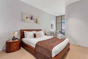 港区秘境公寓客房内的一张或多张床位