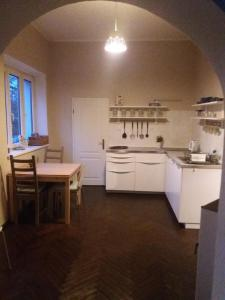 Guest House U Lamy的厨房或小厨房