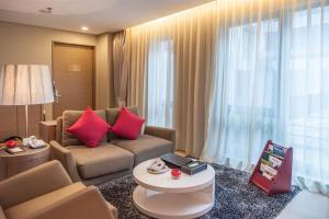 深圳雅诗阁美伦服务式公寓的休息区
