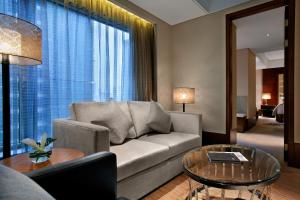 重庆凯宾斯基酒店的休息区