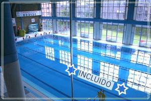 里姆普公寓式酒店内部或周边泳池景观