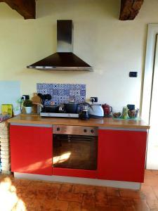 Le Risorgive的厨房或小厨房
