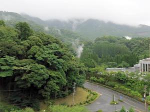 雾岛城堡饭店鸟瞰图