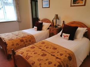 诺森伯兰住宿加早餐旅馆客房内的一张或多张床位