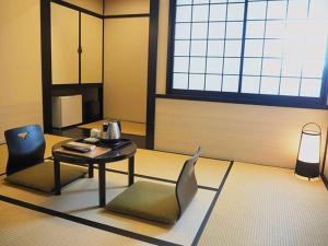 江户樱花饭店的休息区